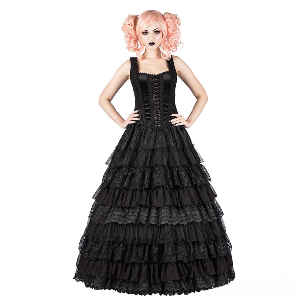 Sinister Kleid Black Drama Queen Ebay